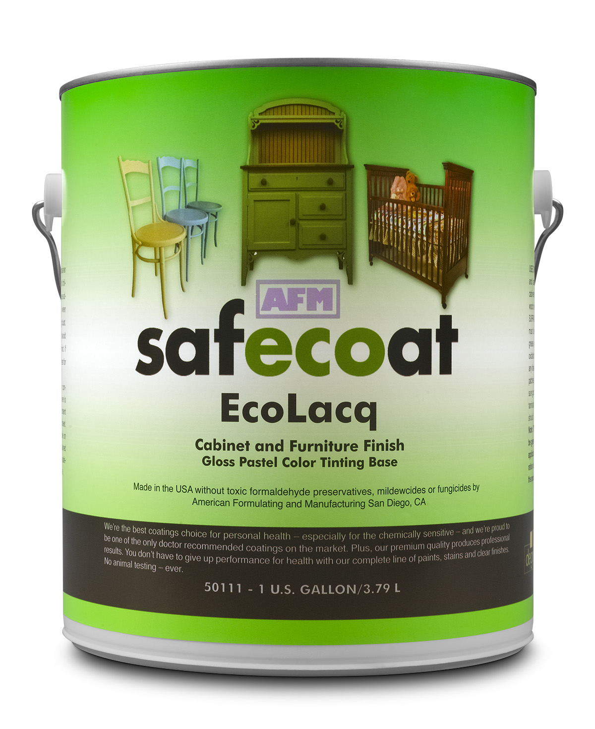 Ecolacq tintable cabinet and furniture polish